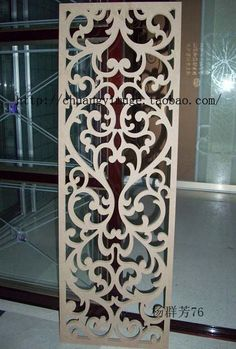 PinSalvati Interior Design interior design for living room Jaali Design, Cnc Cutting Design, Laser Cut Panels, Plafond Design, Partition Design, Cnc Wood, Decorative Screens, Creation Deco, Pooja Rooms