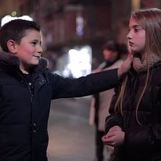 Watch What Italian Boys Do When Told to Slap a Girl...I am struck by how adorable these little boys are first, then by how flirty they are, finally by how gentlemanly they are!