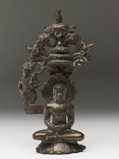 Figure of the Tirthankara Parshvanatha south Deccan, 10th century (AD 901 - 1000)