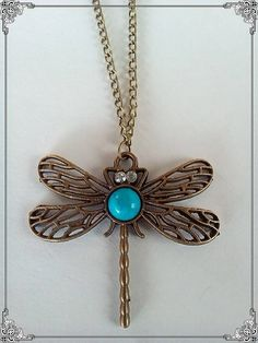 Items similar to Dragonfly pendant on Etsy Dragonfly Pendant, Turquoise Necklace, Insects, Take That, Pendant Necklace, Trending Outfits, Friends, Unique Jewelry, Handmade Gifts