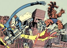 Jack 'King' Kirby / The Fantastic Four.