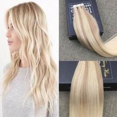 Tape in Nordic Balayage Human Hair Extensions