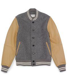 club monaco varsity jacket - Google Search