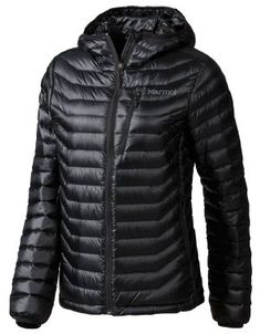 4f43cfb8a9 Marmot Quasar Hooded Down Jacket Womens L Black   Check out this great  product.(