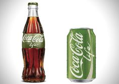 Coca-Cola Introduces Healthier Coke Life » Design You Trust