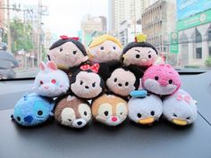 Disney Tsum Tsum Plushies