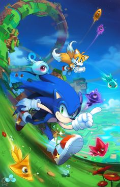 Thanks everyone for liking or reblogging my Sonic Lost World Fanart from 2014! I updated it quite a bit. Final Version will be up on Wednesday, but this is it for now! HAPPY EASTER EVERYONE! old version:...