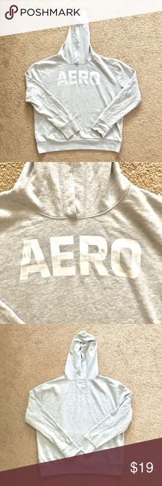 7927e8008806 Aeropostale Women s Gray Hoodie Size XL 👉Worn Lightly But In Amazing  Condition 👉Size XL