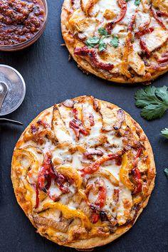 Zesty Chicken Fajitas Pizza