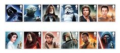 18 special Star Wars stamps by #RoyalMail