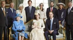 The Duke and Duchess of Cambridge release official photographs from Prince George's christening - ITV News