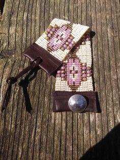 Hand Loomed bracelet, hand woven bracelet, Native American inspired, Southwest chic, boho, Bohemian bead woven bracelet