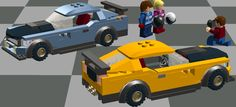 Lego Ford Mustangs