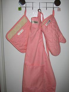 pink apron