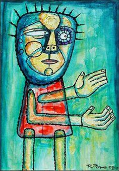 Naïve Art | ... Ponce Art Movement People: Men Modern Age Primitive Art/Naive Art