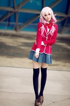 Guilty Crown Inori Cosplay