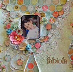 Mixed Media Scrapbook page Tutorial- My Creative Scrapbook