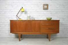 Retro Vintage Danish Teak midcentury sideboard Eames 1950s 60s - fantastic! Desperately need to find one!!!!!