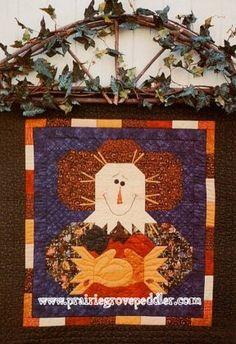 Prairie Grove Peddler Scarecrow Quilt