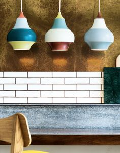 Cirque is a colourful and robust pendant lamp designed for Louis Poulsen by Clara von Zweigbergk for use in kitchens, children's bedrooms, bars and restaurants.