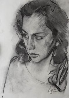 Supreme Portrait Drawing with Charcoal Ideas. Prodigious Portrait Drawing with Charcoal Ideas. Life Drawing, Drawing Sketches, Drawing Tips, Contour Drawings, Sketching Tips, Pencil Drawings, Pastel Drawing, Painting & Drawing, Rembrandt