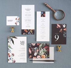 Juliette Wedding Invitation & Correspondence Set / Vintage