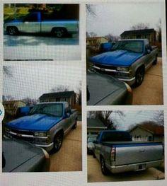 1990 Chevy pickup lowrider