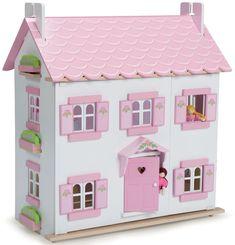 Petit Champignon maison poupée Jouet Set Accessoire Maison d/'été