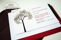 Invitación de #boda de nuestra colección Sensaciones 2014 by FDeI, diseños propios, de aire renovado, se pueden personalizar e incluso, crear vuestro diseño propio. Consúltanos!.