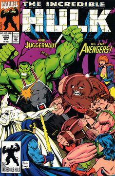Incredible Hulk # 404 by Gary Frank  Mark Farmer