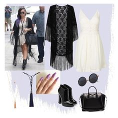 A fashion look from July 2016 featuring sun dresses, cardigan kimono and heeled ankle boots. Browse and shop related looks. Lanvin, Givenchy, Polyvore Outfits, Giuseppe Zanotti, Ankle Boots, Kimono, Topshop, Fashion Looks, Clothing