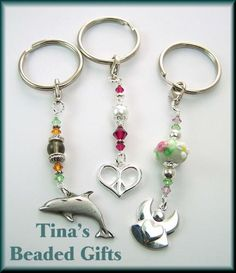 Tina's Custom Beaded Keychain Gifts