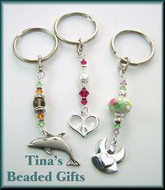 Tina's Custom Beaded Keychain Gifts