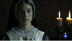 Marta Belmonte es Ana de Bretaña -Duquesa de Bretaña y reina consorte de Francia