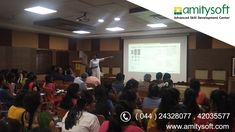 """Amitysoft in association with and Chennai Professional Chapter successfully conducted a Mini Tutorial on """"Demystifying Data Analytics"""" at on Data Analytics, Big Data, Chennai, Software, Workshop, Engineering, Knowledge, College, Train"""
