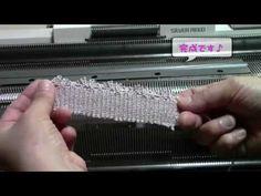 Необычный способ набора петель и несколько образцов узоров