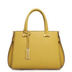 Bolsas de mano para dama. Piel. Colores: Amarillo, Rosa . Shopidonea. Importado.