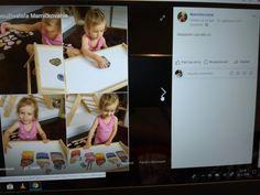Montessori, Polaroid Film, Frame, Home Decor, Homemade Home Decor, Interior Design, Frames, Home Interiors, Decoration Home