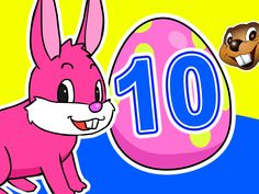 10 Little Easter Eggs | Learn to Count 1-10 with Surprise Eggs | Childre...