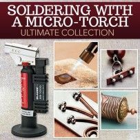 with a Micro-Torch Ultimate Collection Soldering with a Micro Torch Ultimate Digital Collection Small but mighty, explore the design and soldering potential the micro torch holds! Whether you're a micro torch pro or just getting started, this ultim Soldering Jewelry, Jewelry Tools, Metal Jewelry, Silver Jewelry, Jewelry Kits, Jewelry Necklaces, Silver Earrings, Gold Jewellery, Jewelry Ideas