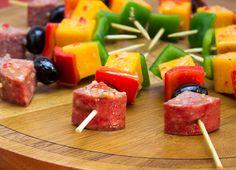 Marinated Summer Sausage Kabob - Johnsonville.com