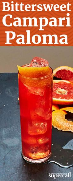 This take on a Paloma mixes the usual tequila and grapefruit soda with bittersweet Campari for a refreshingly quaffable summer sipper.