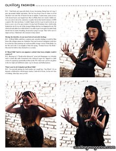 Blood Milk designer feature and interview in the February/March 2012 issue of Auxiliary Magazine. Interviewed by Vanity Kills