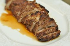 This Mommy Cooks: Marinated Pork Tenderloin {slow cooker}