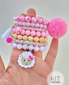 Ideas Jewerly Handmade Bijoux For 2019 Handmade Jewelry Box, Handmade Accessories, Custom Jewelry, Little Girl Jewelry, Kids Jewelry, Bubble Necklaces, Girls Necklaces, Kids Bracelets, Baby Girl Accessories