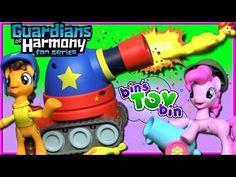 PARTY TIME! Cheese Sandwich & Pinkie Pie My Little Pony Guardians of Harmony Figures   Bin's Toy Bin - YouTube