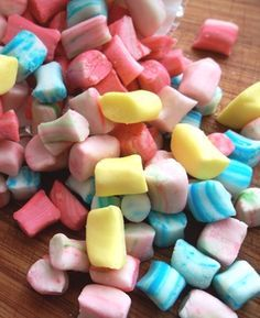 """Homemade butter mints (Love & Flour). """"If your only experience with butter mints has been those little rock-hard pastel pillows at bridal showers, these delicate, creamy candies will amaze you."""""""