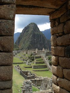 Machu Picchu, Peru - my all-time top place I want to see.