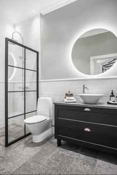 Bathroom Under Stairs, Condo Bathroom, Small Space Bathroom, Bathroom Plans, Guest Bathrooms, Bathroom Design Small, Dream Bathrooms, Bathroom Interior Design, Bathroom Renovations