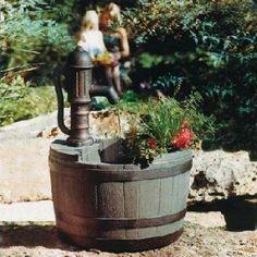 Little Giant Whiskey Planter Water Fountain Pump-14940294 - The Home Depot